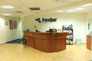 TraceSpan office entrance